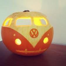 carved pumpkins vw - Google Search