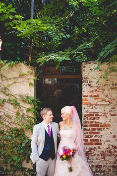 Philly magic gardens wedding dresses