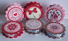 Valentine peppermint patties