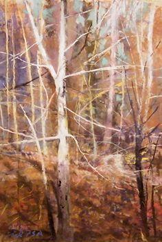 Tom Christopher (pastel on paper)