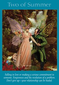 Oracle Card Two of Summer | Doreen Virtue | official Angel Therapy Web site
