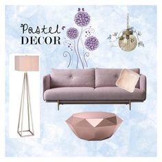 """#pasteldecor"" by petra-blefluf ❤ liked on Polyvore featuring interior, interiors, interior design, home, home decor, interior decorating, Zuo, Canopy Designs, Pillow Decor and JAlexander"