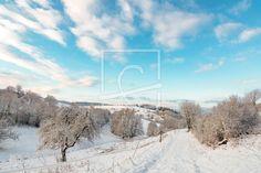 Winterlandschaft im Oberen Tal - auf http://ronni-shop.fineartprint.de