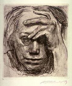 Kathe Kollwitz- Self Portrait
