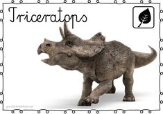DINOZAURY – plansze – Przedszkolankowo Shape Templates, Jurassic World, Montessori, Kindergarten, Preschool, Lion Sculpture, Museum, Statue, Children