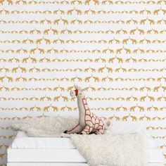 @Sissyandmarley for Jill Malek - Baby Elephant Wallpaper