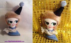 Muñecos pintados My Violet- Agatha :D myvioletdesigns.com