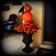 Funkin Topiary for fall