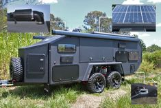 Bruder Camper Trailer - The Best Small Off Road Camping Travel Trailers You Can Buy - MadSub Off Road Camping, Camping Car, Camping World, Camping Stove, Expedition Trailer, Overland Trailer, Small Travel Trailers, Small Trailer, Off Road Camper Trailer