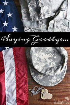 "I did not realize that saying goodbye, or saying ""See you later"" as it is known in military circles would be so hard. Sure, no goodbye is easy, but this- this was a lot harder than anticipated. And you know what the ironic thing is? Saying goodbye wasn't even the hardest part…"