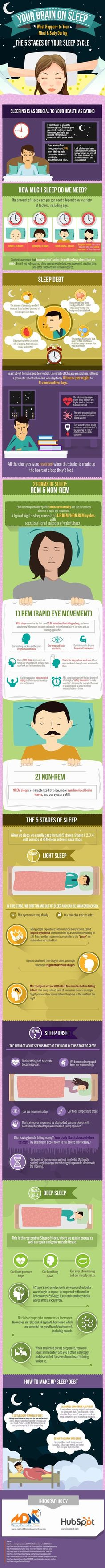 Here's What Sleep Does To Your Body