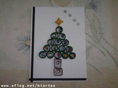 Cartões de Natal - Quilling