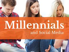 Blog post at Rebekah Radice, Social Media Strategy : Mllennials. A generation born into the Internet.  Whether it's time spent on Instagram, Snapchat or Twitter, this tech-savvy group is co[..]