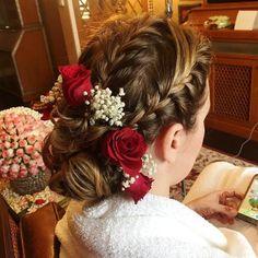 Braided Hairstyles: top 10 braided girl hairstyles for Long hair 2020 Low Bridal Bun, Bridal Hair Buns, Bridal Braids, Bridal Hairdo, Indian Bridal Hairstyles, Top Hairstyles, Bride Hairstyles, Hairstyle Images, Hairstyle Braid