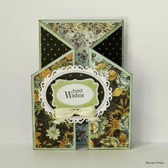 Beccy's Place: Tutorial: Cascade Card - 1 piece