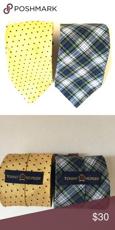 {Tommy Hilfiger} Preppy All Silk Tie Made in 🇺🇸 Super preppy tie, made of 100% silk.  Made in the 🇺🇸USA with imported Italian fabrics. The blue and green tie has red plaid stripe on the back side. Hilfiger ties retail in the $40 range. Don't miss out on this fantastic bargain that will instantly add a pop of prep and color to your suits and shirts. #tommyhilfiger, #tommyhilfigerties, #allsilkties, #hilfiger, #hilfigerties Tommy Hilfiger Accessories Ties
