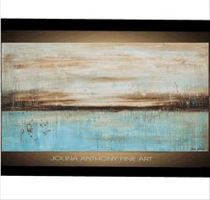 Original PAINTING abstract painting  Original landscape  painting  wall art from jolina anthony fast and free shipping. $379.00, via Etsy.