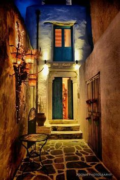 Alley in Naxos