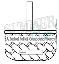 A Basket Full of Compound Words- Great Fall Apple Activity to do with your students! from SummerBloom