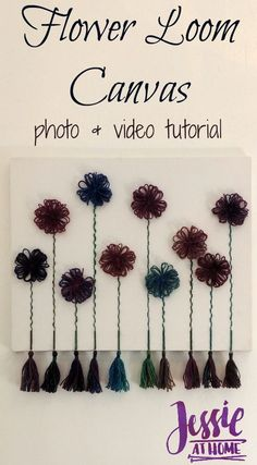 Flower Loom Canvas -