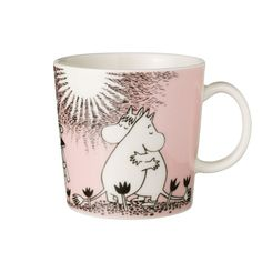 Be instantly transported back to your childhood with this Love mug from Iittala. Featuring two Moomin characters hugging on a pink background, this mug is crafted from ceramic. There are more fun d...