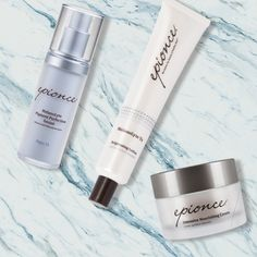 The skin on the neck & decollete reveals your true age. Help diminish the primary signs of aging with an Epionce regimen.