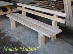 Banco de jardin,modelo DUBLIN