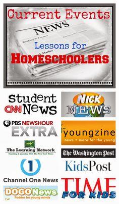 Teaching Current Events to Homeschool Kids - Teach Beside Me