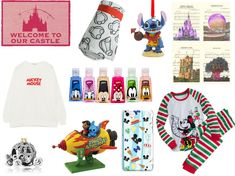 Ladies Christmas Pyjamas   Doormat   Lilo & Stitch Figurine   WDW Sheet Music Prints   Cinderella Pumpkin Coach Pandora Charm   Mi...