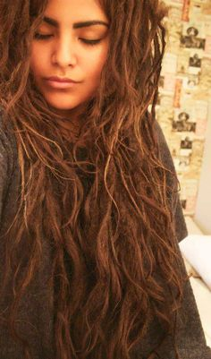 Like how her dreads aren't as huge as some others and they still look like dreads