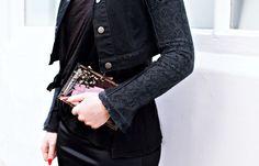 All black outfit details  http://emiunicorn.com/emi-unicorn-for-jeans-for-genes-day-21daysofj4g/