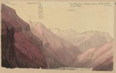 Vom Hügel bei Campovask im Bleniotal gegen Dongio Berge. Hs_4c:487c