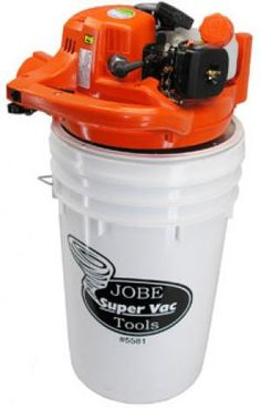 Super Vac with Quick disconnect for attachment to drywasher hose