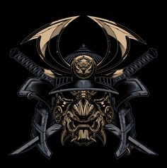 samurai fighting demon tattoo - Google Search