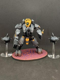 Tau Warhammer, Tau Empire, Greater Good, Minions, Modeling, Miniatures, Painting, Character, The Minions