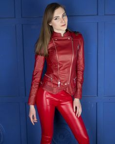 Long Leather Coat, Leather Trench Coat, Leather Pants, Sexy Outfits, Fashion Outfits, Womens Fashion, Leder Outfits, Catsuit, Leather Fashion