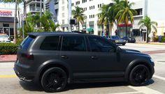 Matte Black VW Touareg