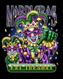 Fat Tuesday.