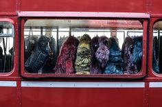 Eco Furs at White Trade Show 2015 #milano #fashion #white #red #fur