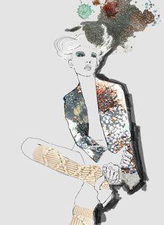 Socks, by Emma Trewartha