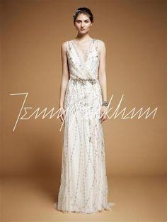 Modelo Astrid. Coleccion Vestidos de Novia 2013 Jenny Packham.