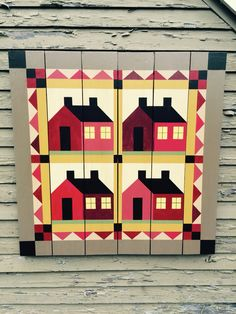 Barn Quilts by Chela - School House Barn Quilt
