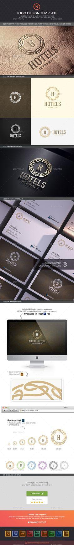 Art Hotel Logo Template #design #logotype Download: http://graphicriver.net/item/art-hotel/10597748?ref=ksioks