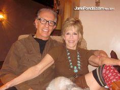 Jane Fonda and her beau Richard Perry