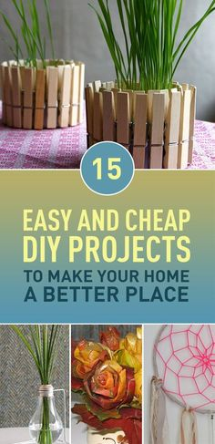 Do you want to make your home a better place for living? Donât want to spend much on buying new stuff for your home? Then this article is for you. We bring you creative DIY ideas on how to reuse and upcycle old stuff you already have to make beautiful and useful things for your home. Most of these ideas are easy and cheap to make and can be done as a small weekend project.