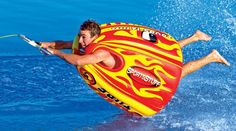 """How about this for tubing on the lake this summer!! ha ha! """"The Sumo Tube!"""""""