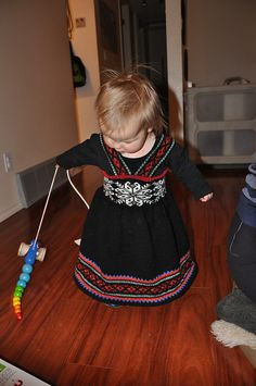 Ravelry: Project Gallery for Nr Seleskjørt pattern by Ingjerd Thorkildsen Cute Outfits For Kids, Cute Kids, Knitting Ideas, Baby Knitting, The Conjuring, Norway, Ravelry, Knit Crochet, Pride