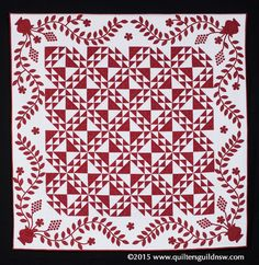 North Wind by Jan Cardie.  2015 Quilters' Guild NSW show (Sydney, Australia)