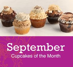 We are doing September right with these flavors: *Gooey Butter Brownie *German Chocolate *Smurtle *White Chocolate Pumpkin Spice *Apple Crumb Pie