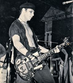Mike Ness - Social Distortion 1982 era of the band.